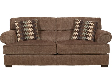 Jackson Furniture Hayden Sofa in bark 4277-03
