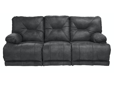 Jackson Furniture Voyager 3 seat reclining sofa in slate 43824 1228-53/3028-5