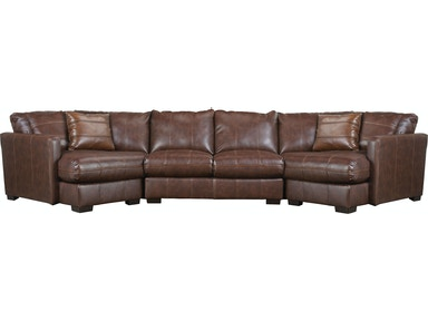 Jackson Furniture Three Piece Sectional in Java 4395 3 PC SECT
