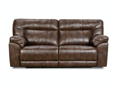 Simmons Upholstery Abilene Tobacco Reclining Sofa 50571BRRS