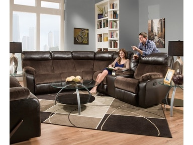 Simmons Upholstery 2 Piece Sectional 53100