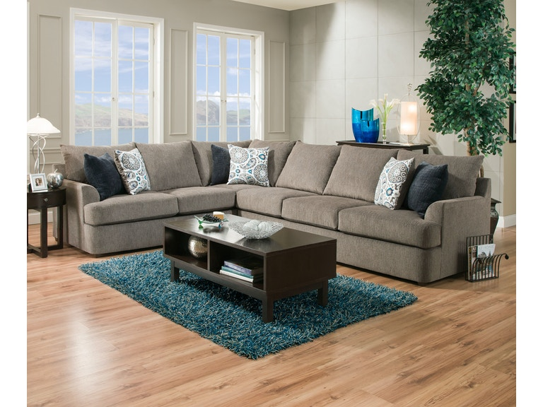 Simmons Living Room Furniture. Simmons Upholstery 2 Piece Sectional 8540 2PC SECTIONAL Living Room