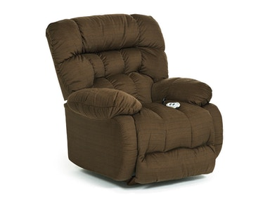 Best Home Furnishings Plusher Power Rocker Recliner 8MP27