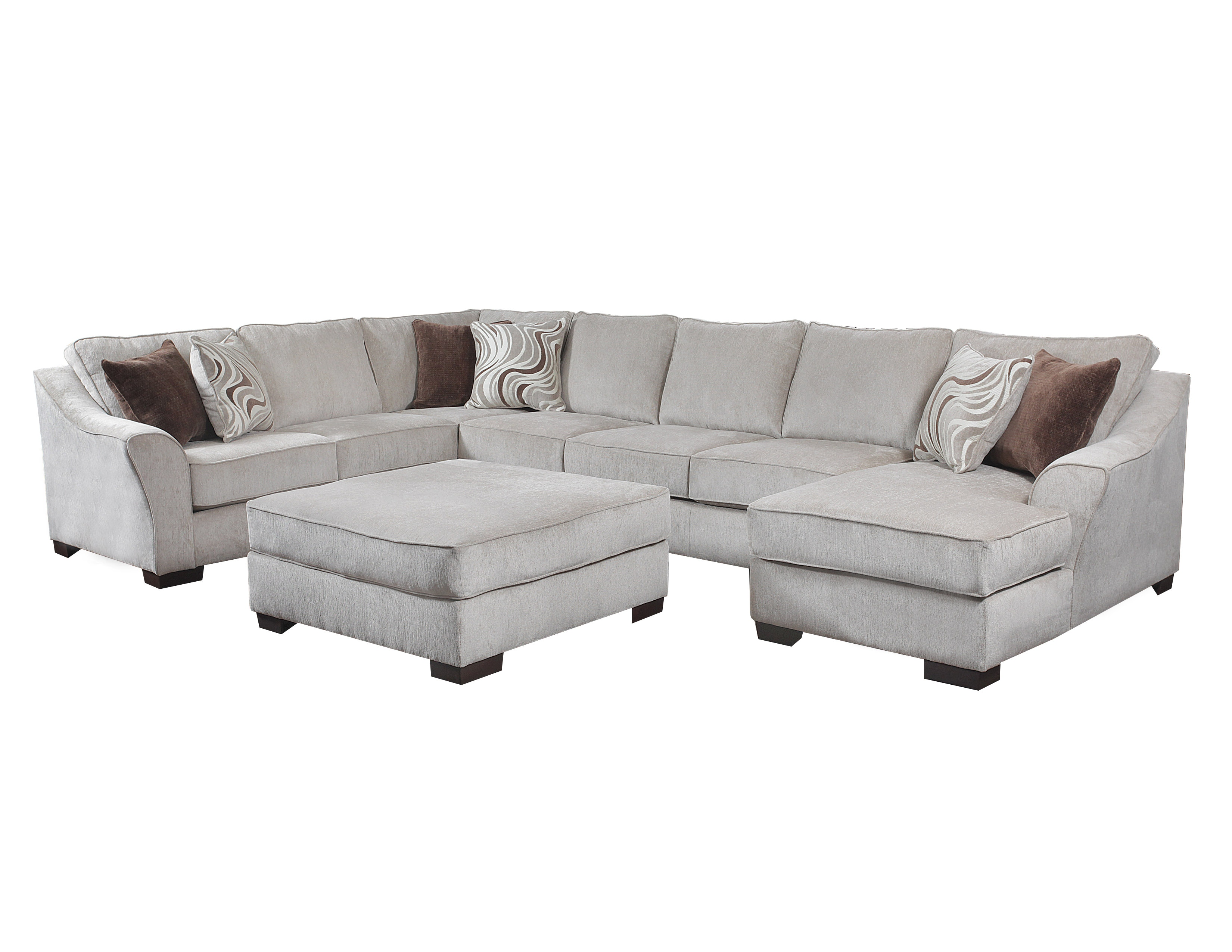 Simmons Upholstery 3-piece sectional 9355 3PC SECTIONAL  sc 1 st  Goldsteins Furniture : simmons upholstery sectional - Sectionals, Sofas & Couches