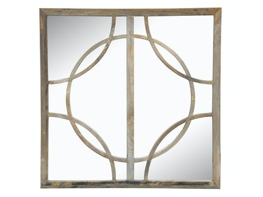 Classic Home Wells Square Mirror 56002010