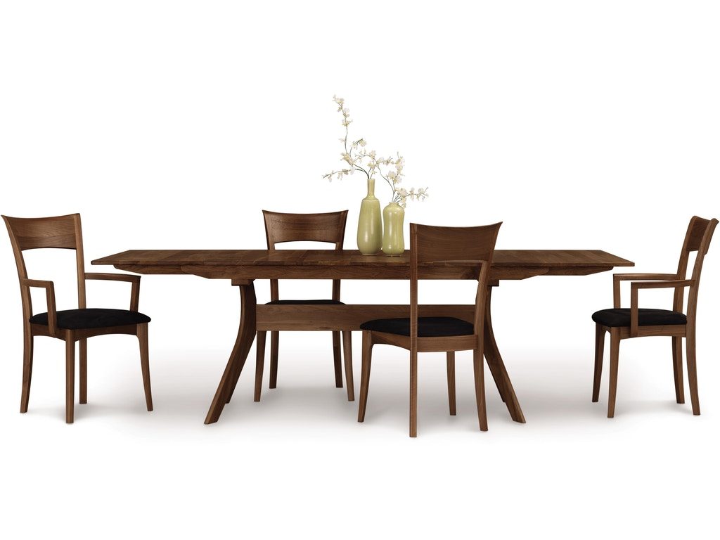 Copeland dining room audrey extension table with easystow for Dining room extension