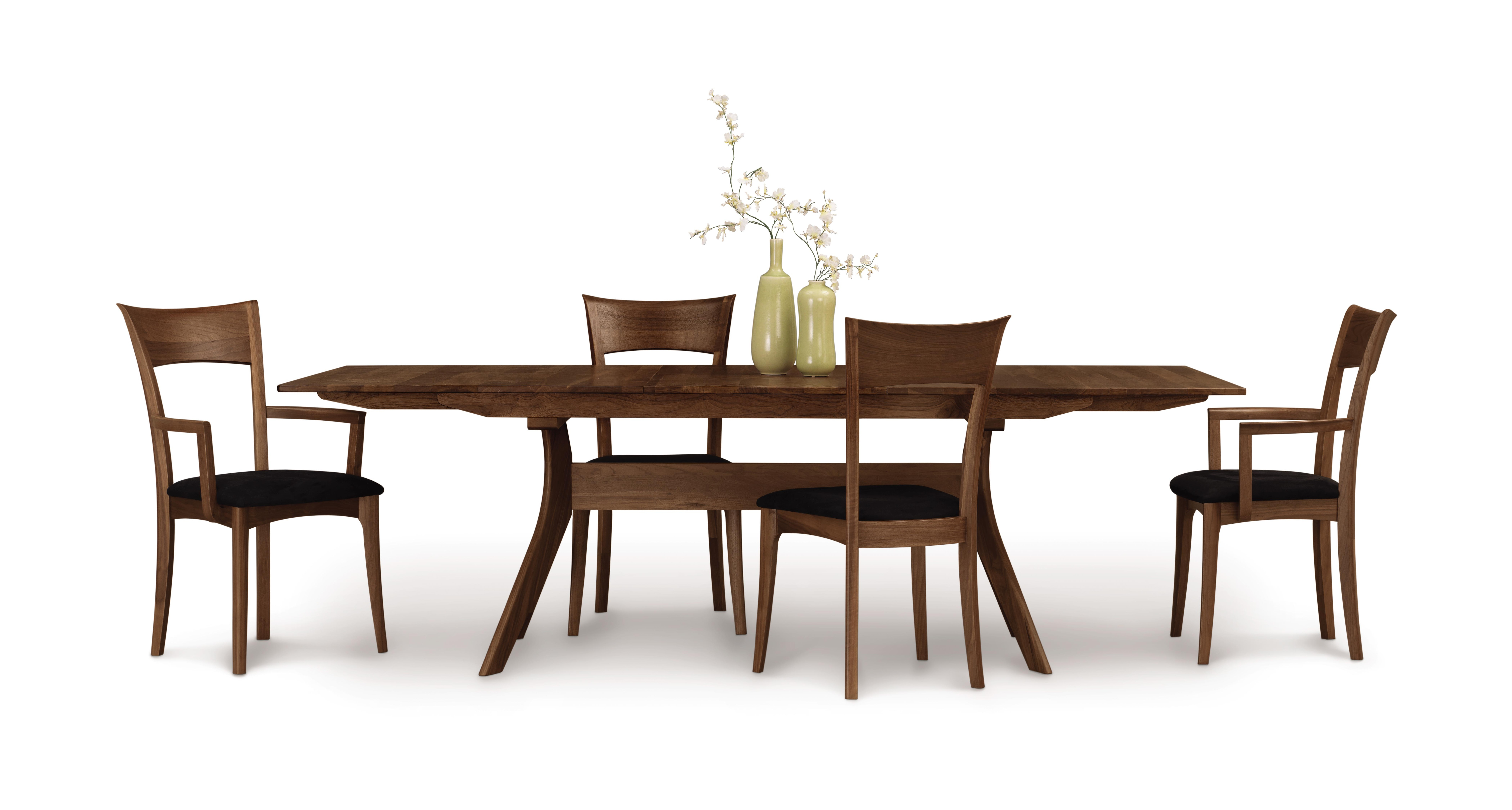 Amazing Copeland Audrey Extension Table With EasyStow Extension And Leaf Storage In  Walnut 6 AUD
