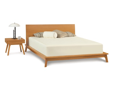 Copeland Catalina Bed in Cherry 1-CAL-02-03