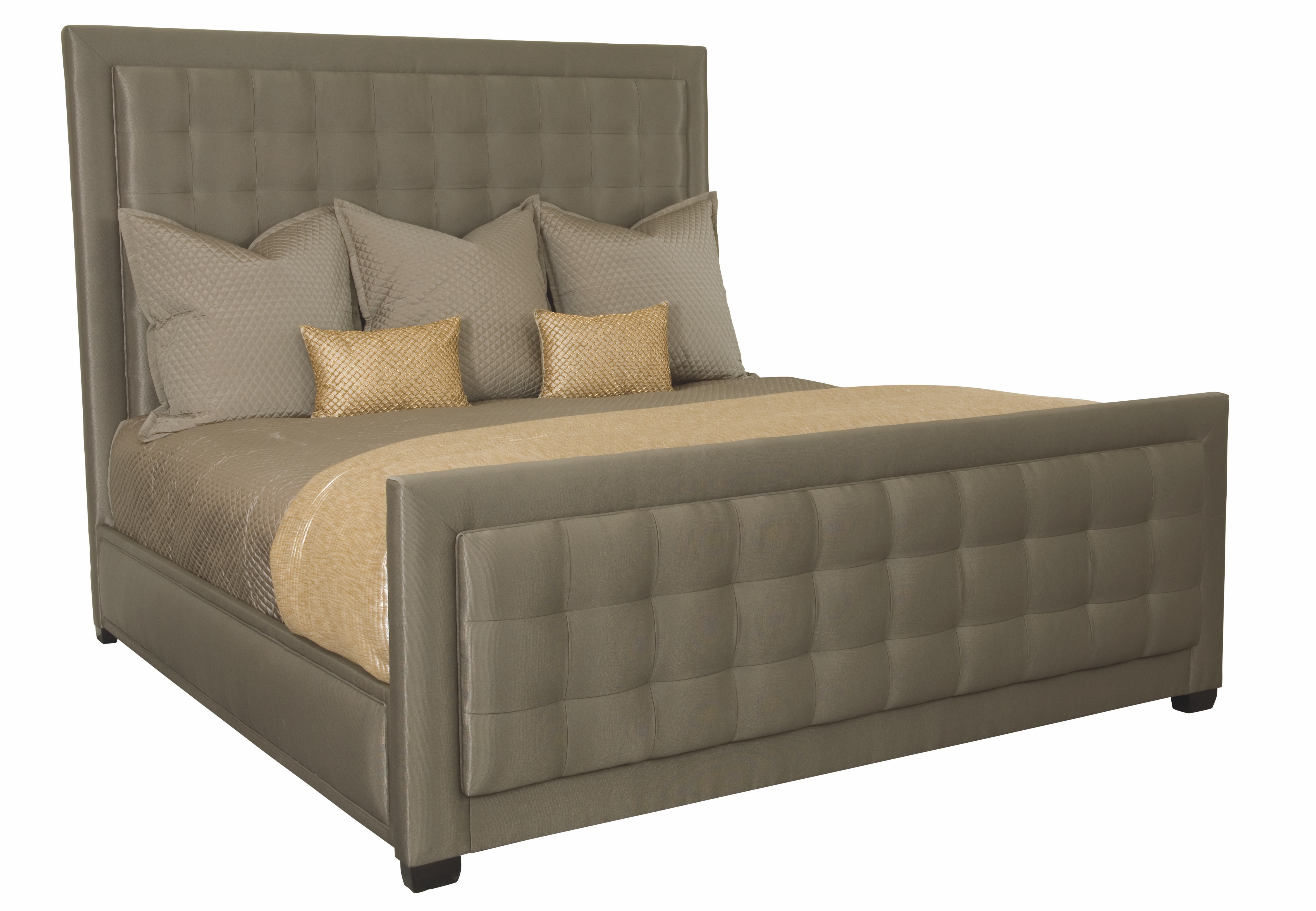 Bernhardt Interiors Jet Set Upholstered Bed 356 HFR09