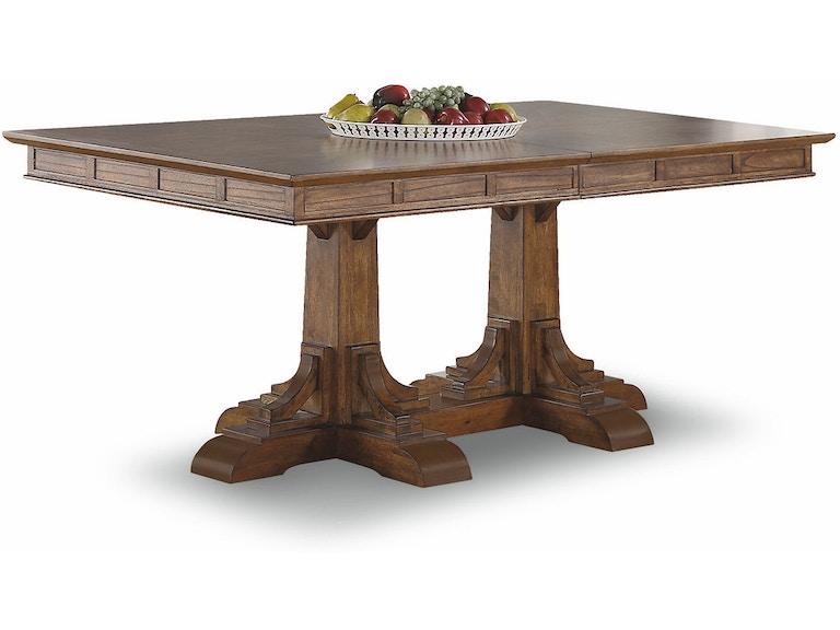 Flexsteel Rectangular Pedestal Dining Table W1134 830