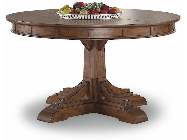 Flexsteel Round Pedestal Dining Table W1134 834