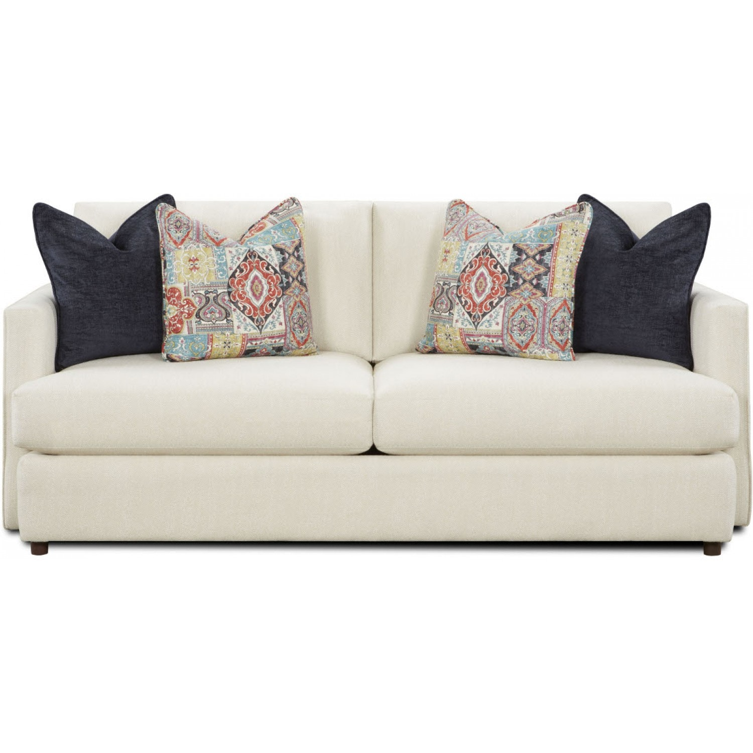 Fusion Living Room SOFA FUSION   1810 GRASSROOTS ALABASTER At Crown  Furniture U0026 Electronics