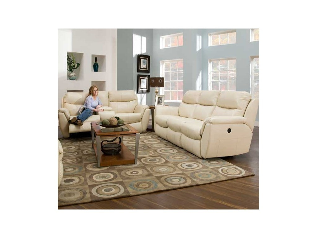Southern motion living room double reclining sofa sm 564 for Living room queen creek