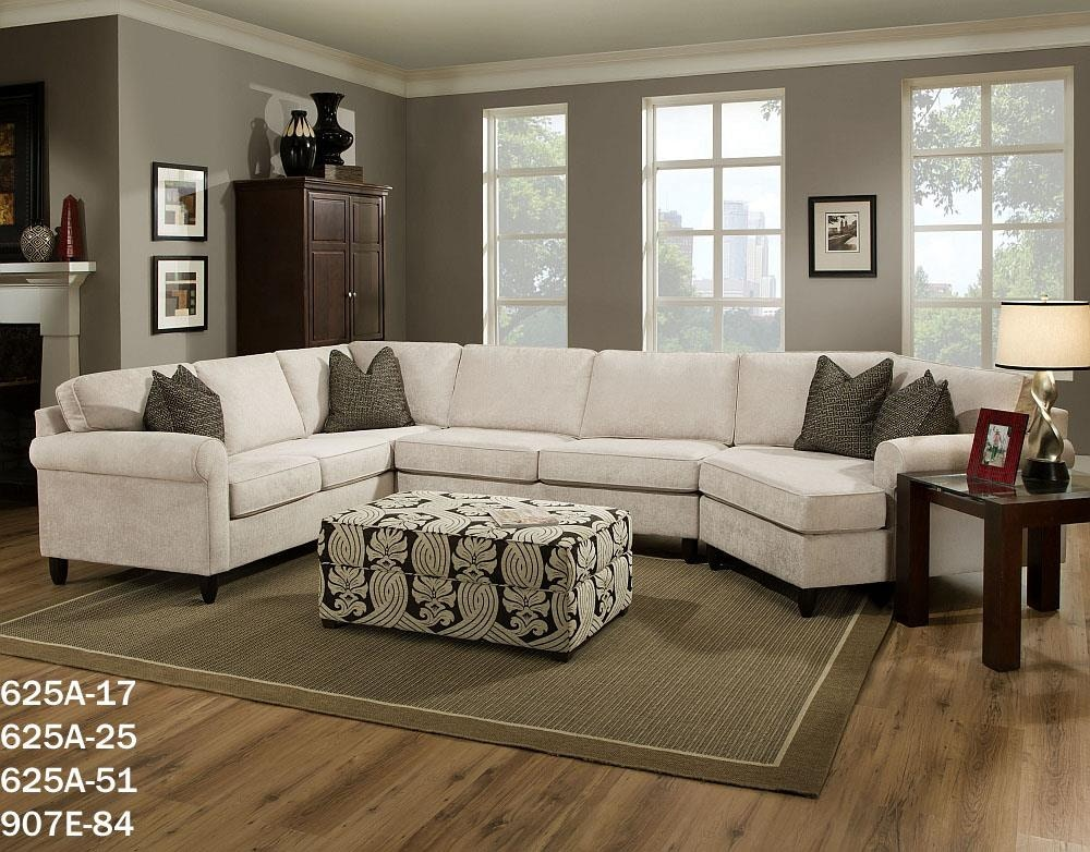Bauhaus Rolled Arm Sectional Available In Endless Configurations. 625A