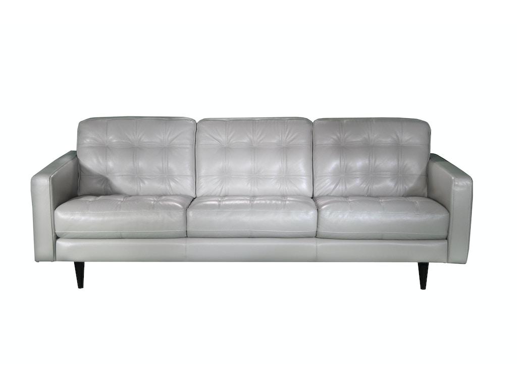 Chateau d39ax living room italian leather tufted sofa u217 for Chateau d ax sectional leather sofa