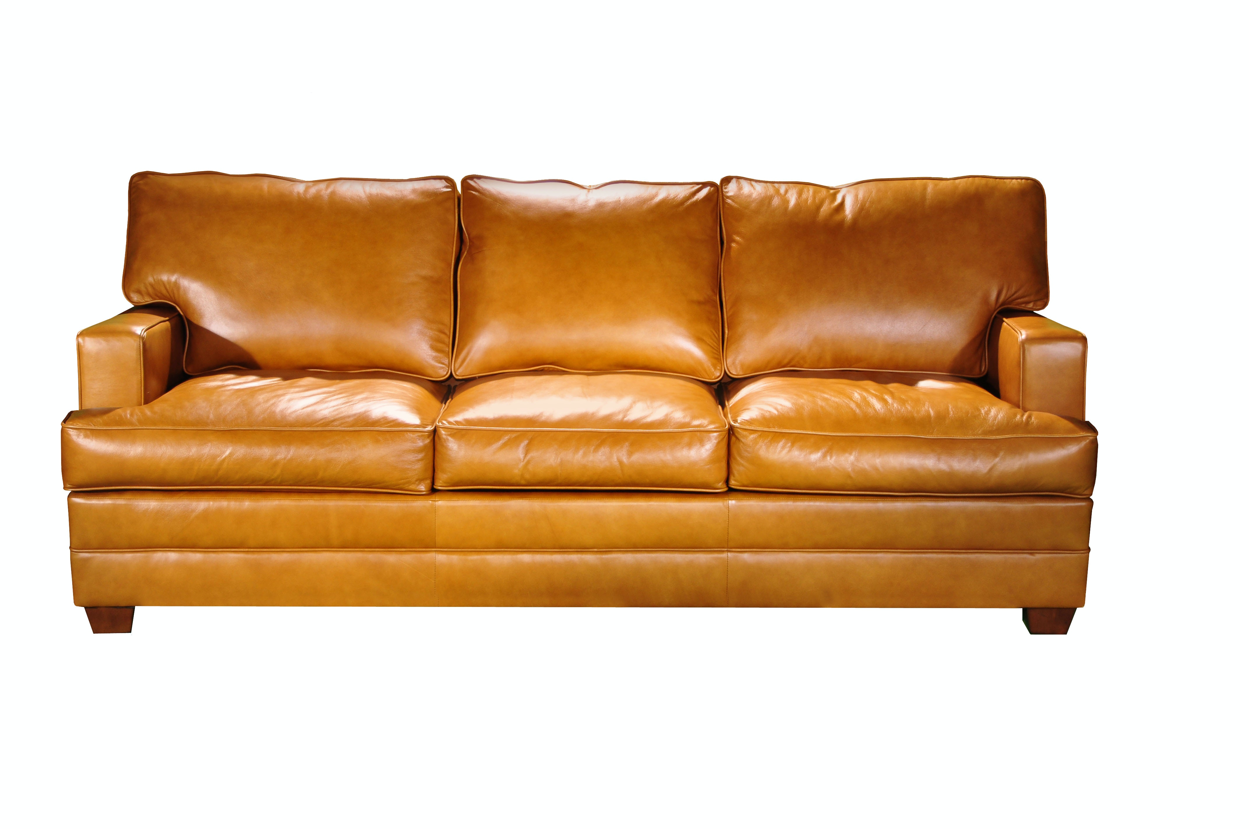 Elite Leather Track Arm Leather Sofa In Stock Or Available To Be Custom  Ordered In Hundreds