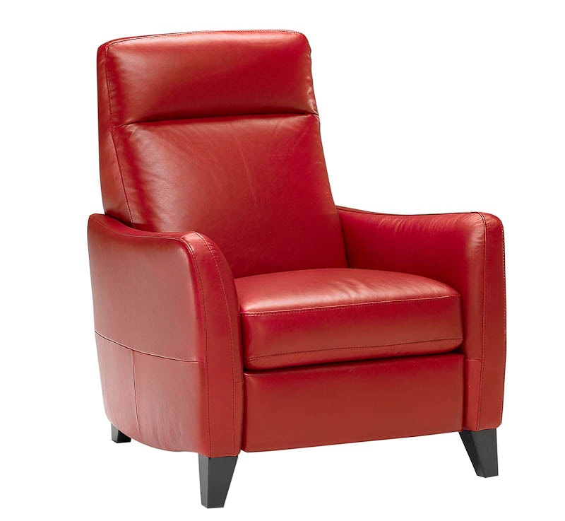Natuzzi Living Room Modern Italian Leather Recliner B537 At Hamilton Sofa U0026  Leather Gallery