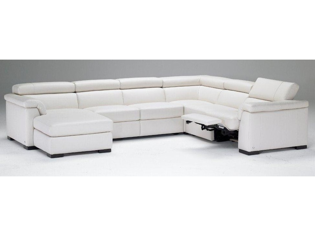 natuzzi living room modern italian leather sectional b634. Black Bedroom Furniture Sets. Home Design Ideas