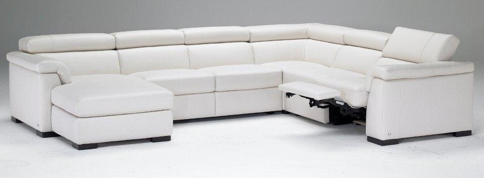 Natuzzi modern Italian leather sectional B634  sc 1 st  Hamiltons Sofa Gallery : natuzzi leather sectional - Sectionals, Sofas & Couches