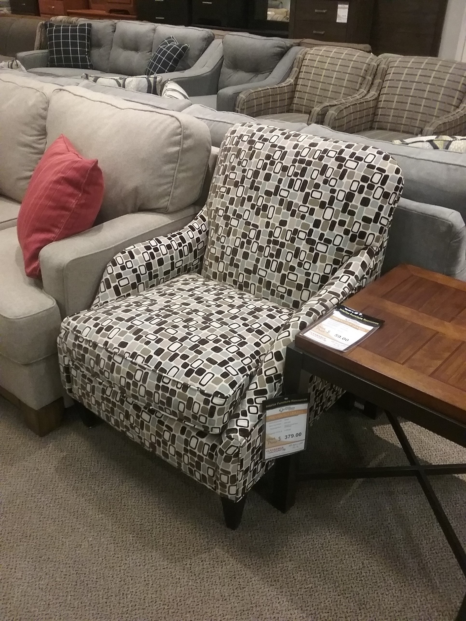 IFR Clearance JUST ADDED!!!ACCENT CHAIR BY ROWE K301 000