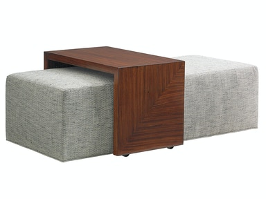 Belair Collection Broadway Cocktail Ottoman 1784-25T