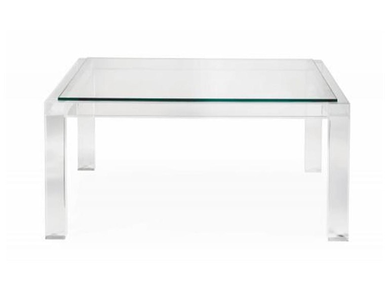 Barcelona Moderne Square Cocktail Table 340-008