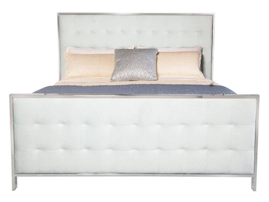 Barcelona Candace Upholstered Panel Bed 358-HFR59