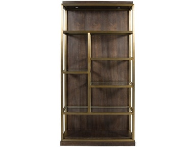 Theodore Luminary Bookcase Right Facing W589BR