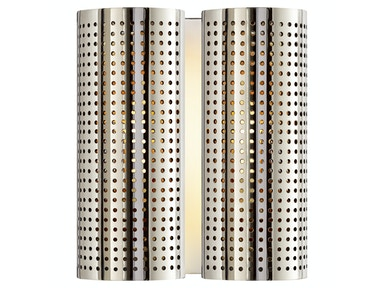 Venice Precision Double Sconce in Polished Nickel KW 2063PN