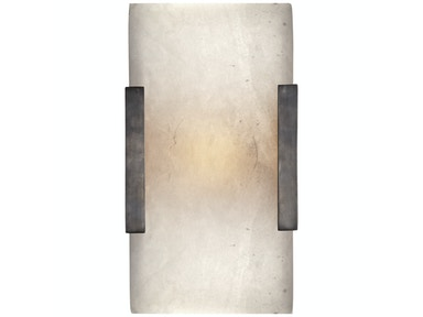 Venice Covet Wide Clip Bath Sconce in Bronze KW 2115BZ-ALB