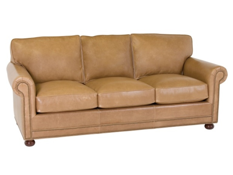 Classic leather living room larsen sb 84 inch sofa 58 66 3 for Sofa 84 inch