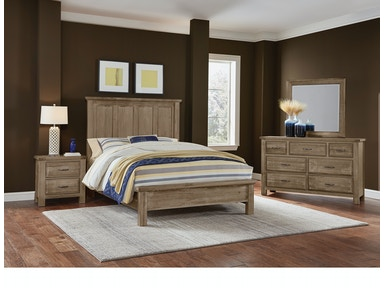Artisan & Post Maple Road - Weathered Gray Mansion Bed ALE-115A