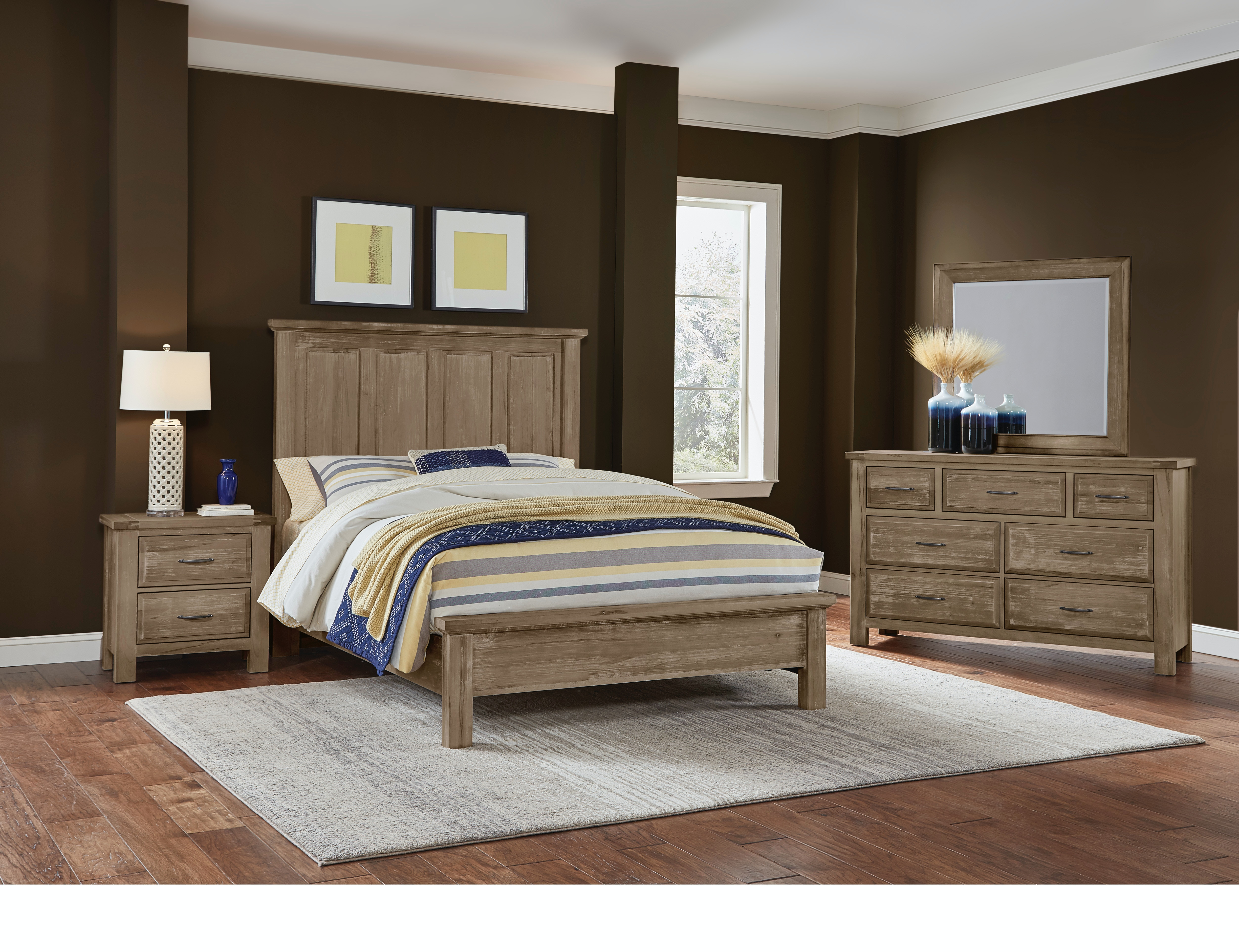 Artisan Amp Post Bedroom Maple Road Weathered Gray Mansion