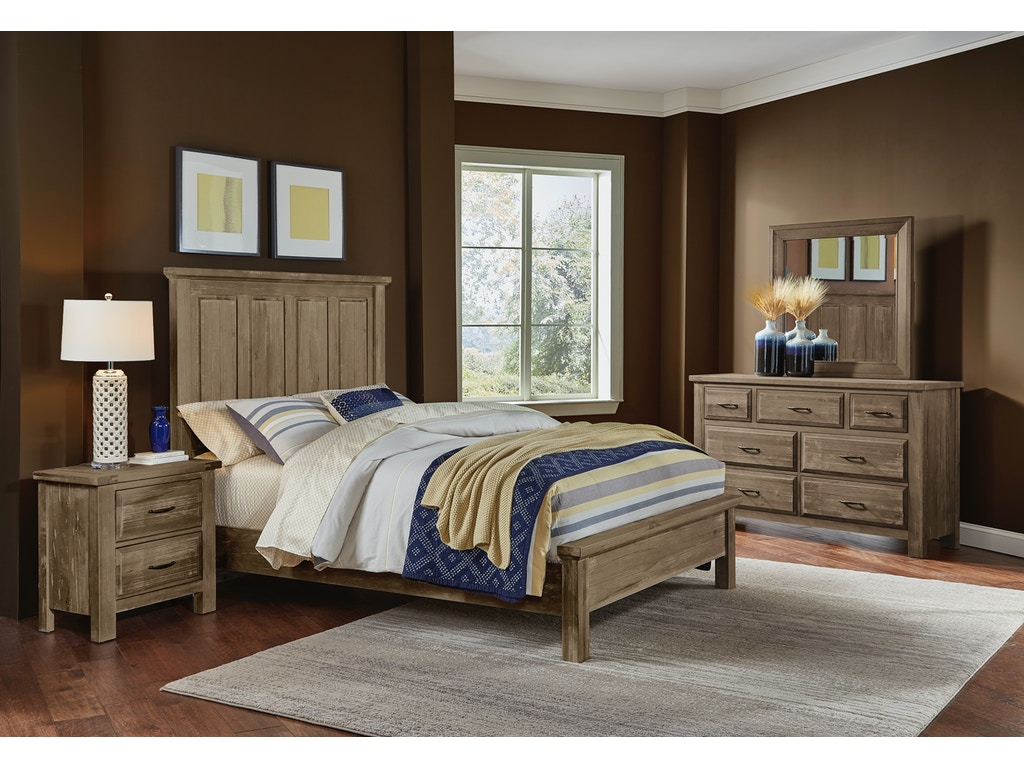 Mansion Bedroom Furniture Artisan Post Bedroom Maple Road Weathered Gray Mansion Bed Ale