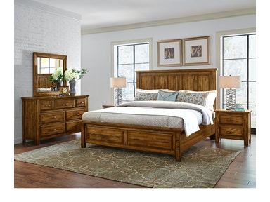 Artisan & Post Maple Road - Antique Amish Panel Storage Bed ALE-118A