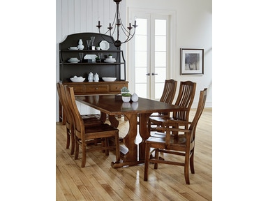 Artisan & Post Family Dinner Table - Simply Dining ALE-500/501