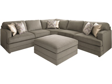 Bassett 5 Seat L-Shaped Sectional BAS-3937SECT