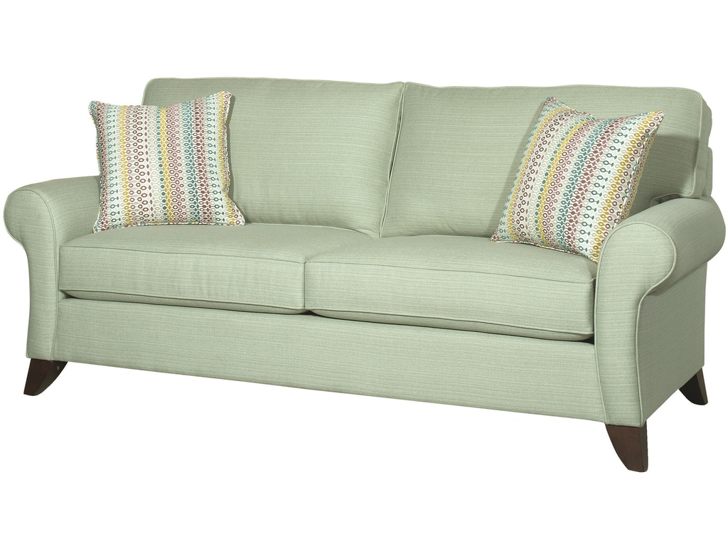 Bassett Living Room Two Seat Sofa Bas 3972 Tyndall Furniture Mattress Charlotte Pineville