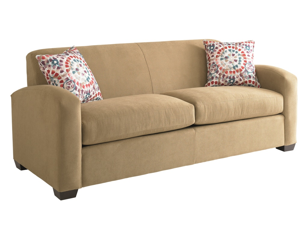 Bassett Living Room Two Cushion Sofa Bas 3921 Tyndall Furniture Galleries Inc Charlotte