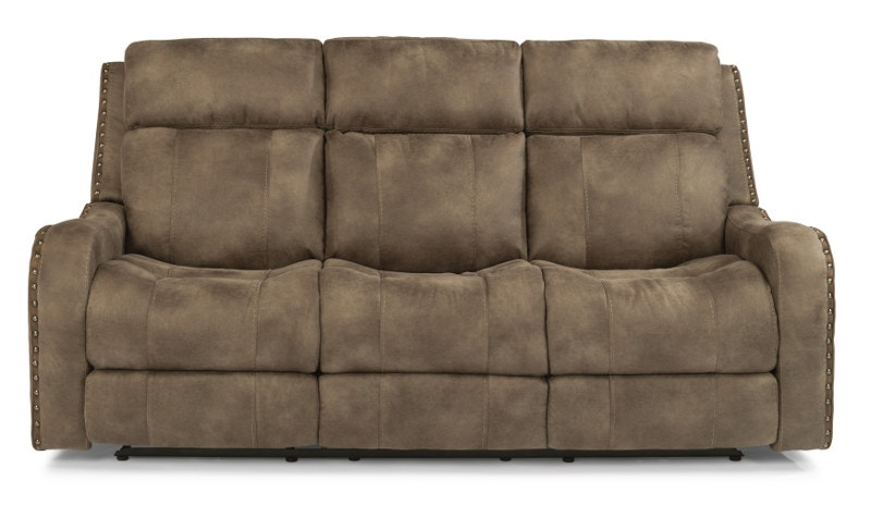 MOTION LEATHER SOFA