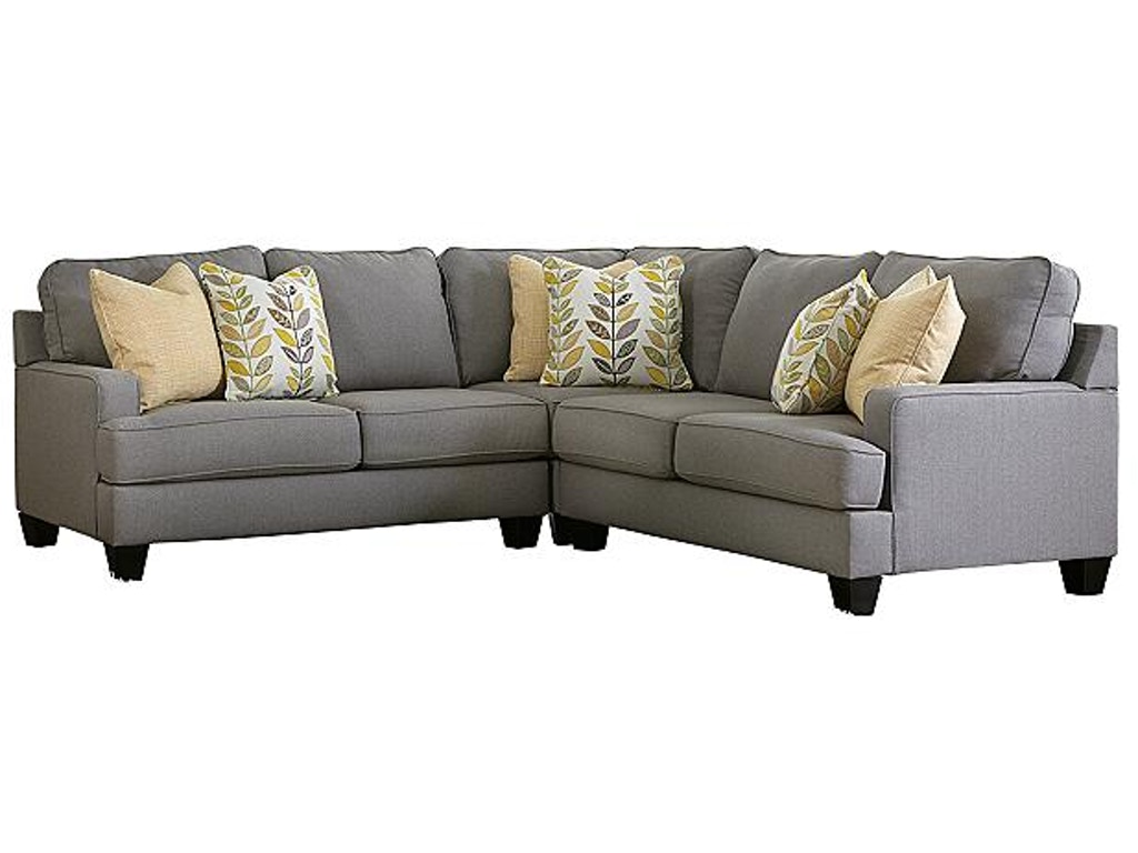 Ashley Furniture Industries Living Room Sectional Uppkas243a American Factory Direct Baton