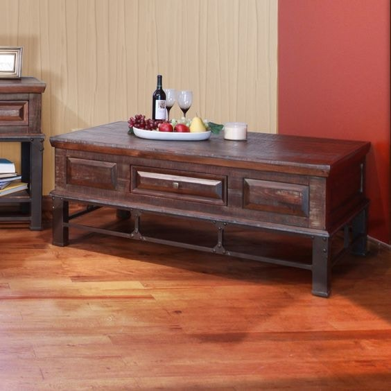International Furniture Direct COCKTAIL TABLE OTCTIFD305CK