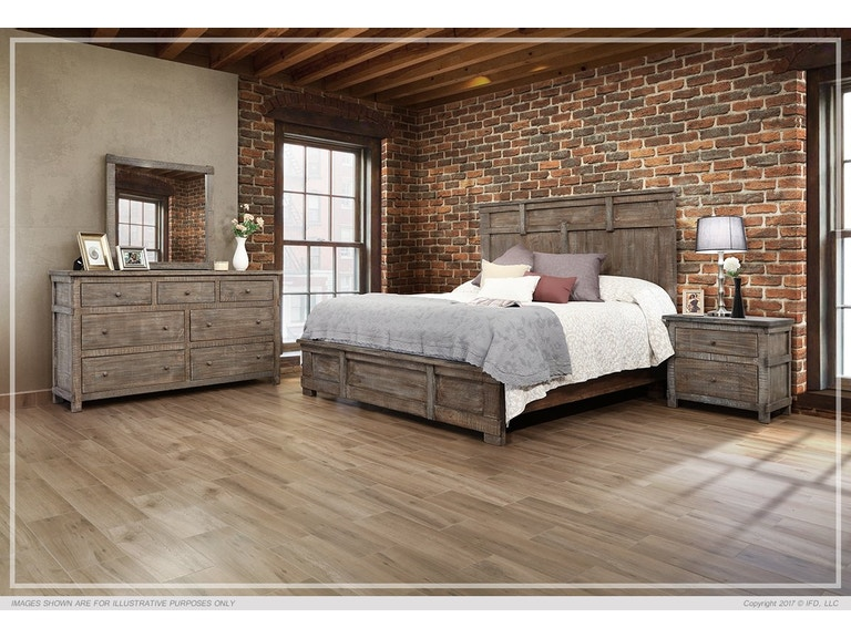 International Furniture Direct San Angelo King Bed Bdpkif380b