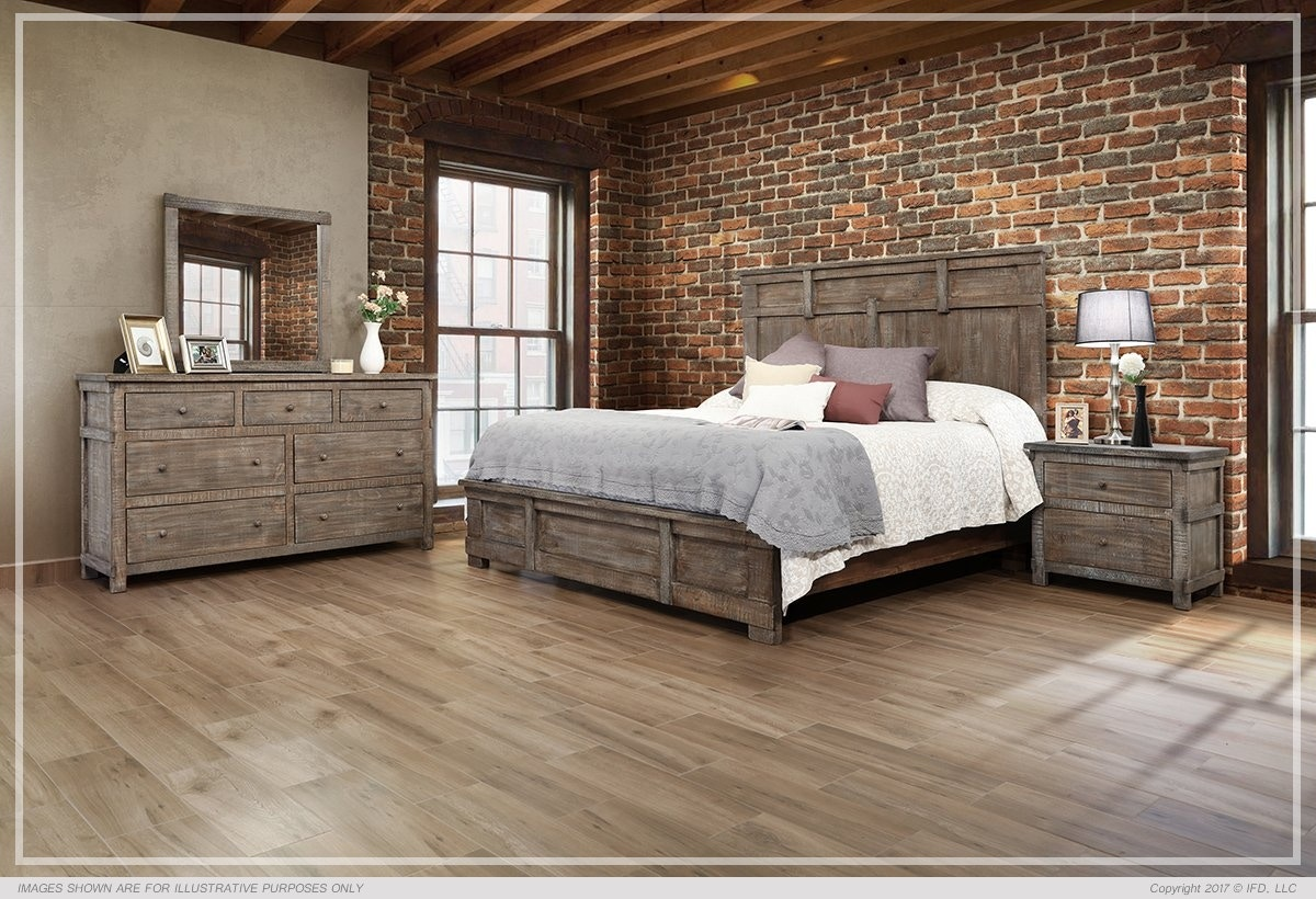 Genial International Furniture Direct SAN ANGELO KING BED BDPKIF380B