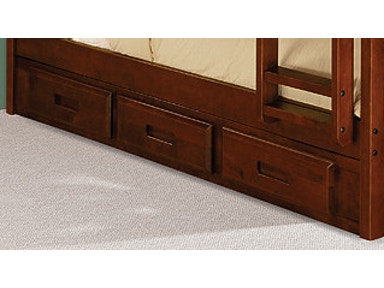 Discovery World Furniture 3 DRAWER UNDERBED UNIT-MERLOT JUTRDI2892