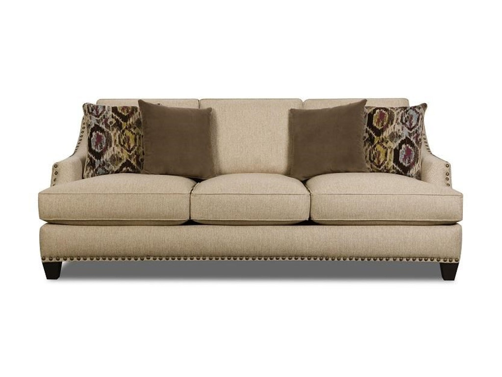 Afd Furniture Living Room Upholstered Sofa Upsoco44as American Factory Direct Baton Rouge La