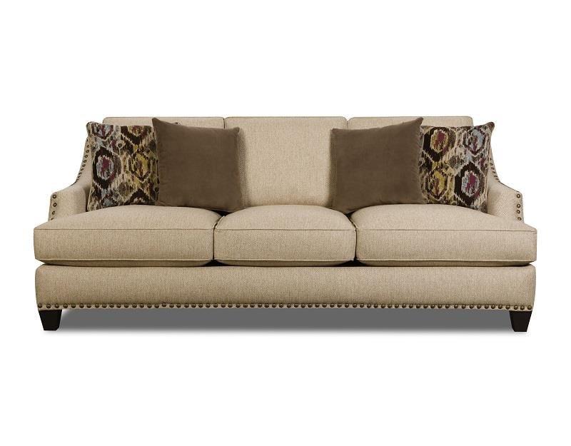 AFD Furniture UPHOLSTERED SOFA UPSOCO44AS