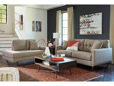 ashley dahra jute 8 piece package - Full Living Room Sets