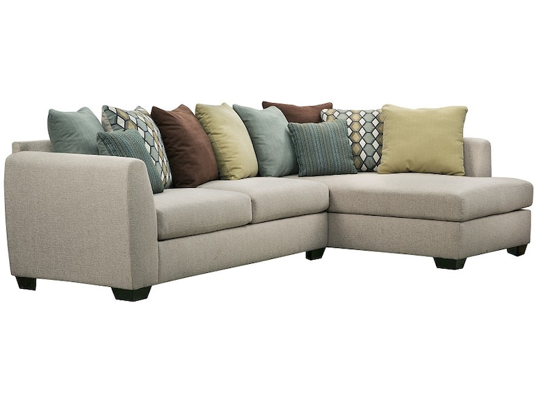 Ashley Furniture Industries Living Room Sectional Uppkas8290a American Factory Direct Baton