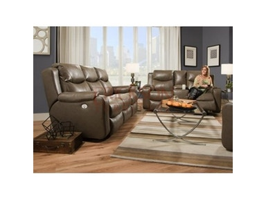 Southern Motion double reclining loveseat w/console lssm88128
